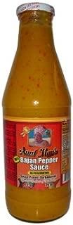 Aunt May's Bajan Pepper Sauce Hot 26 oz