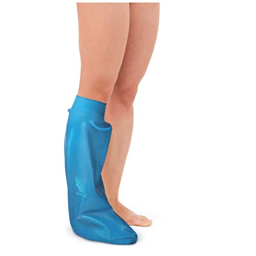 Bloccs Waterproof Cast Cover for Showering Leg, Adult