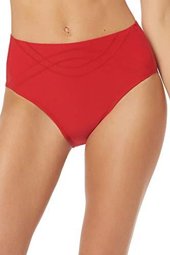 EBW Women's Collection High Waist Bikini Bottom Red S
