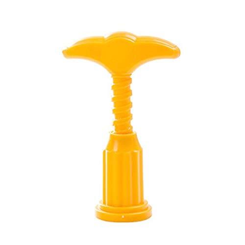 Sacacorchos 1 PC Creativo Multifuncional Acero Inoxidable Botella de Vino Openador Mini Abre de Vino Herramientas de Cocina Gadgets Accesorios inlijianzhugon (Color : Yellow)