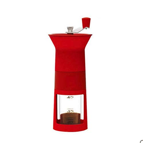CCFFY Manual Coffee Grinder, Best Conical Burr Spice Herb Pepper Mill