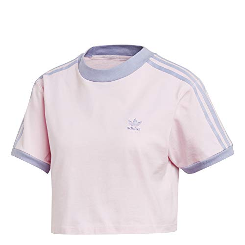 adidas Cropped tee Camiseta, Mujer, roscla, 38