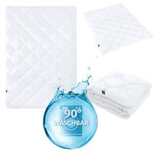 sei Design Bettdecke Classic Dream Collection, Mikrofaser, geeignet für Allergiker, Schadstoffgeprüft (Winterdecke, 155x220)