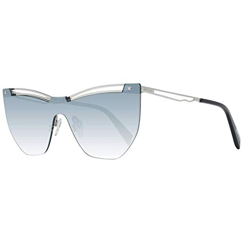 Just Cavalli JC841S 16B 00 Gafas de sol, Plateado (Palladio Luc/Fumo Grad), 0 Unisex Adulto