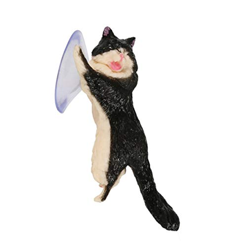 MEILUAIMU Soporte Universal para Gato Lindo Soporte para teléfono móvil de Resina Soporte para tabletas con Ventosa Soporte para teléfono Inteligente con diseño de Ventosa para Escritorio