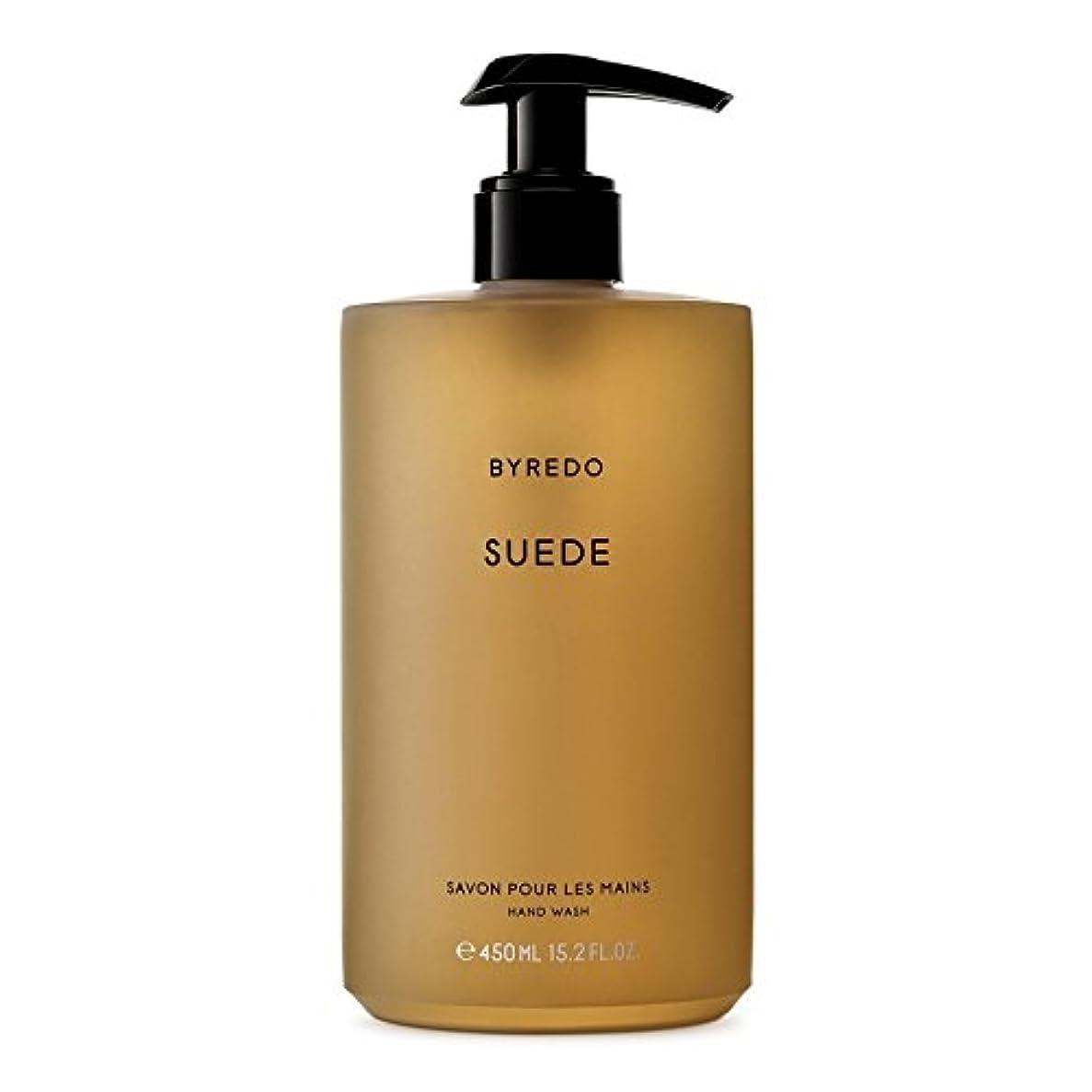 生き返らせるキャメル道Byredo Suede Hand Wash 450ml - スエードのハンドウォッシュ450ミリリットル [並行輸入品]