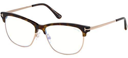 Tom Ford FT 5546 -B 052 - Gafas de sol, color dorado y azul