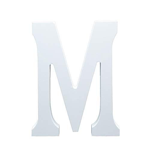 Besch Letras de Madera mayúscula Decorativa 15cm (M)