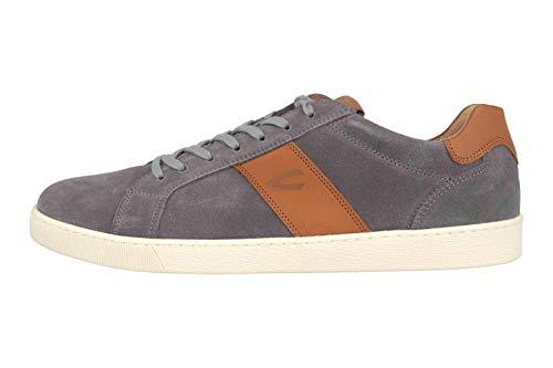 camel active Herren Tonic Sneaker, Mehrfarbig (ash/Nature 07), 43 EU
