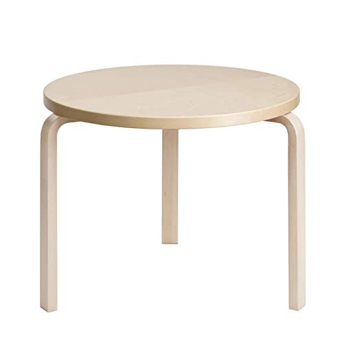 Artek 90 B Tisch, H 52, Birke Natur