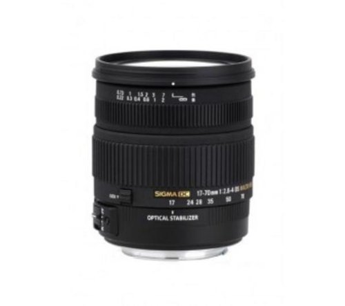 Sigma 17–70mm f/2.8–4.5DC OS HSM macro 17mm-lens