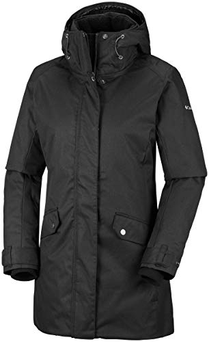 Columbia Sportswear Damen Pine Bridge Jacke Hardshelljacke, Black, L