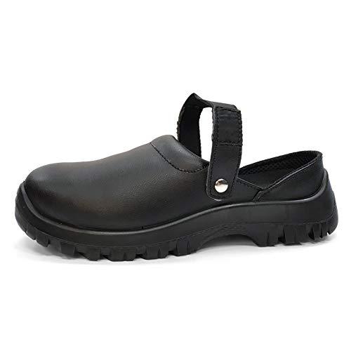 Botas de Seguridad Hombre Trabajo con Suela Antideslizante CE S3 8350 Calzado de Protección con Puntera Composite