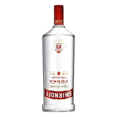 Smirnoff Red No. 21 Premium Vodka Triple Destilled, Relaunch 2019, 6er, Wodka, Alkohol, Alkoholgetränk, Flasche, 37.5%, 1.5 L, 749957