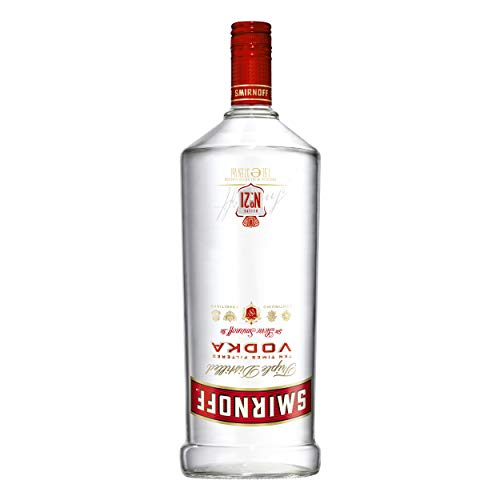 Smirnoff Red No. 21 Premium Vodka Triple Destilled, Relaunch 2019, 6er, Wodka, Alkohol, Alkoholgetränk, Flasche, 37.5%, 1.5 L, 749957