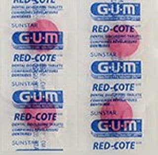 Sunstar Butler G-U-M Red-cote Dental Disclosing Tablets - Package of 248 Tablets