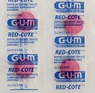 Sunstar Butler G-U-M Red-cote Dental Disclosing Tablets - Package of 248 Tablets