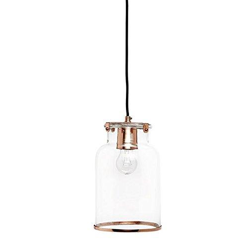 Hubsch Danish Design - Lámpara de cobre para techo