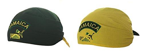 Puma Unisex Reversible Jamaica gorro Bandana (80195201) (Spectra Yellow) (Talla única)