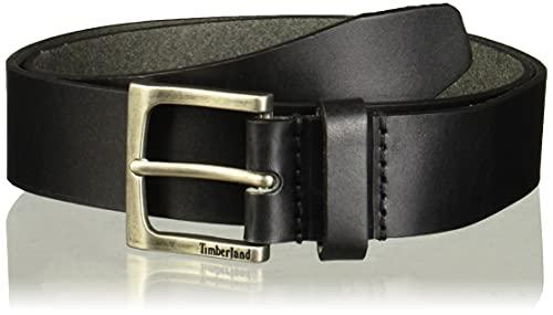 Timberland Men's 35Mm Classic Leather Jean Belt, Black, 40