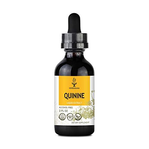 Quinine Liquid Extract, Filled with Quinine Bark (Cinchona officinalis) 2 fl oz