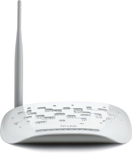 TP-Link TD-W8951ND Modem Router Wireless N, 150 Mbps, ADSL2+, 4 Porte Fast Ethernet, WPS, Filtro ADSL Incluso, Istruzione in Lingua Italiana
