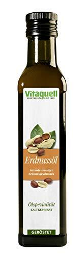 Vitaquell 95143 Aceite de Cacahuete Soplado y Prensado En FrãO, 250 ml
