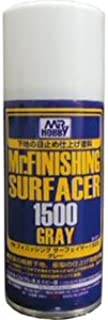 Mr. Finishing Surfacer 1500 Gray 170ml Spray by Mr. Hobby