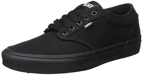 Vans Herren Atwood Canvas Sneaker Sneakers, Schwarz (Black), 46 EU