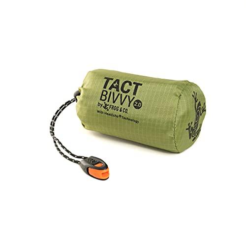 Tact Bivvy 2.0 HeatEcho Emergency Sleeping Bag, Compact Ultra...