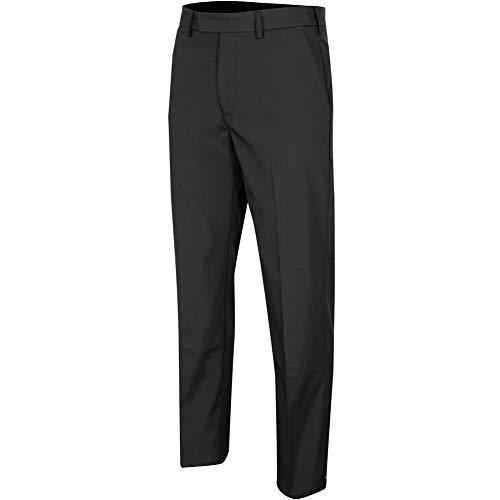 Island Green Pantalones de Golf para Hombre, elásticos, elásticos, Flexibles, para Hombre, Hombre, Pantalones de Golf, IGPNT2066_BLK29_34, Negro, 34W / 29L