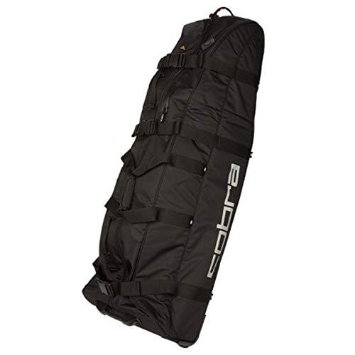 COBRA Puma Golf Rolling Club Bag Trolly Trolley Reisetasche schwarz Golftasche Travelcover 909212, Farbe:Schwarz