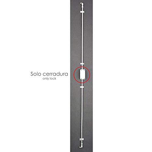 WOLFPACK LINEA PROFESIONAL 3010251 Cerradura Falleba Sin Llave 93/ Blanco