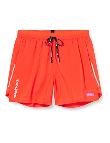 NIKE M Nk FLX Stride Short 5in TKO Pantalones Cortos de Deporte, Hombre, Team Orange, L