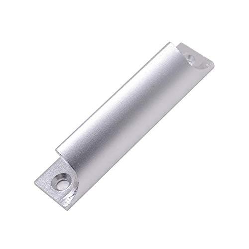 Manija de aleación de aluminio Ventana engrosada y manija de la puerta del gabinete Manija pequeña del cajón Manija pequeña de la hebilla de la ventana del movimiento del balcón