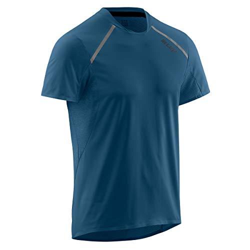 CEP Run Shirt Short Sleeve Herren Laufshirt Blue Gr. XL