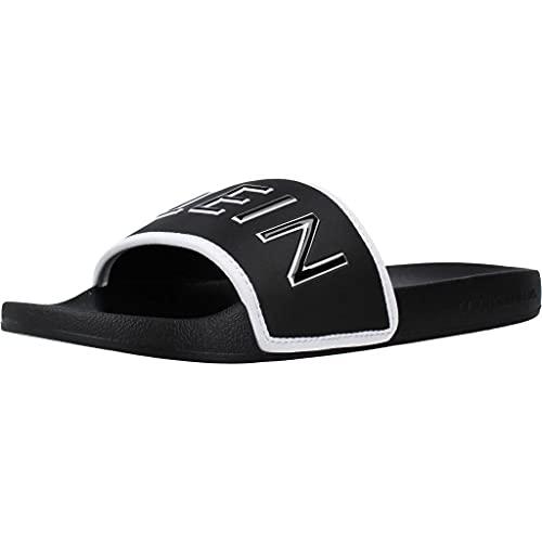 Calvin Klein Herren Schuhe Slide Padded CK PES Schwarz Badeschuhe Größe 45 EU