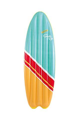 Intex 9658152 aufblasbar Surf Matte, 178 x 69 cm, farblich sortiert