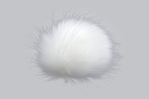 Gründl Fellbommel Deluxe 12 cm Farbe 01 weiß