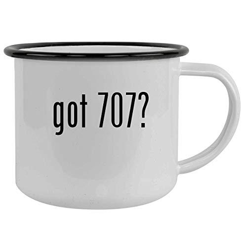 got 707? - 12oz Camping Mug Stainless Steel, Black