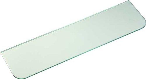 IB-Style - Glasboden SATINIERT 6 mm | klar und satiniert | 11 Abmessungen | Glasscheibe Glasplatte für Glasregal SATINIERT - 400x150 mm