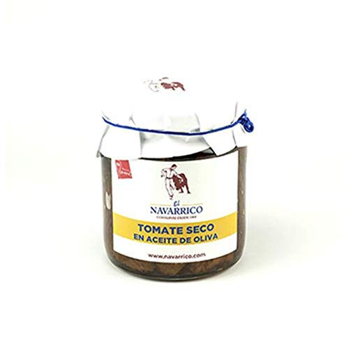 Tomate seco con Aceite de Oliva en frasco El Navarrico 250 ml