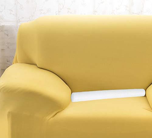 Xpnit - Tira de espuma antideslizante para sofá, con barra de relleno para sofá, barra de relleno, varillas de espuma plegables, protector de muebles (10 unidades, diámetro de 2,5 cm)