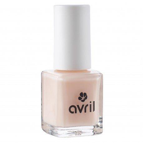 AVRIL - Esmalte de uñas Vegano Endurecedore Nude 714 - Efecto brillante, fácil aplicación, sello largo - No probado en animales - 7 ml