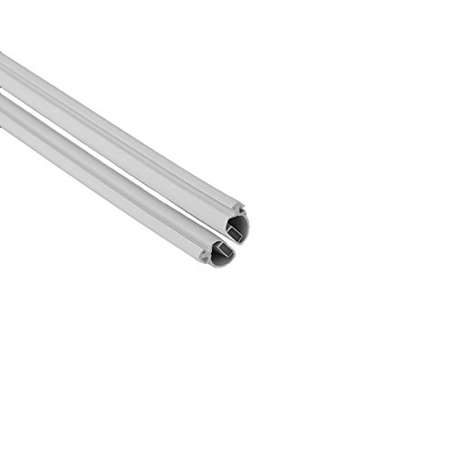 200cm EC-MAG-367-90° Guarnizione Magnetica Box Doccia in gomma (Grigio)