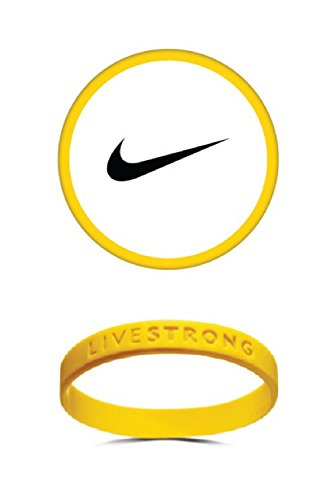 LiveStrong Live Strong gele armband 2 pak grootte volwassenen 8 inch L/XL L-XL 8
