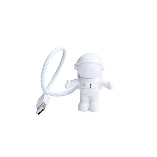 Tubo de astronauta flexible mini LED lámpara USB luz nocturna para ordenador portátil PC