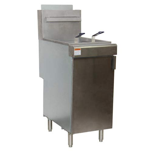 Central Exclusive 40 Lb. Gas Fryer
