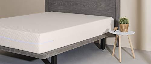 Velfont - Funda de colchón Niza 150, BEIG