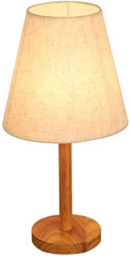 Leeslamp Afstandsbediening Dimmen Creatief Massief Houten Slaapkamer Nachtkastje Landelijk Decoratief Warm Leesboek Leeslamp